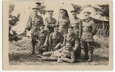 WW1 Era Group Portrait Of Soldiers From 4th Hampshire Volunteers RP PPC