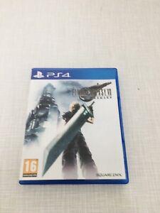 Final Fantasy 7 Remake - Playstation 4 / PS4
