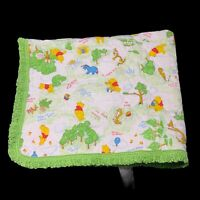 Disney Vintage Winnie Pooh PIGLET Tigger Baby Crib lovey Security Blanket Ruffle