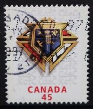 CANADA 1997 Centenary of Knights of Columbus. Set of 1. Fine USED. SG1743.