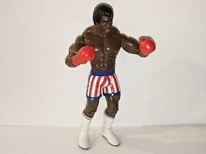 APOLLO CREED Rocky Jakks 2006 Boxing Movie Action Figure Stars/Stripes Trunks