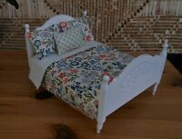 1/12th scale Doll house Liberty print Dbl bedding set New H/made by Lesley Shaw