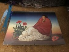 R.C. Gorman Signed Lithograph Taos Poppies Rare Vintage Art