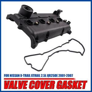 New Engine Rocker Valve Cover Gasket for Nissan X-Trail XTrail 2.5L QR25DE 01-07