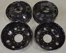 """19.5"""" Ford F450 F550 Dually 10 11 12 13 14 15 16 Factory OEM Rim Wheel Black Set"""