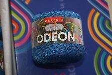 Pelote de laine ADRIAFIL CLASSIC ODEON LAME bleu n° 42