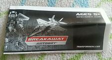Transformers ROTF BREAKAWAY INSTRUCTION BOOKLET AUTHENTIC