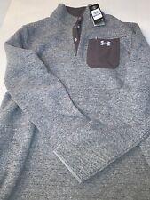 Under Armour Specialist Henley Sweater Fleece 2.0  1316276 polartec Thermal XL