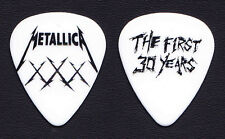 Metallica Fillmore The First 30 Years White XXX Guitar Pick #2 - 2011 Tour