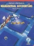 NEW - Managerial Accounting by Jiambalvo, James