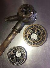 Vintage Toledo Ratchet Pipe Threader No  11-1  11-1/2  11-3/4