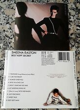 SHEENA EASTON Best Kept Secret 1983 RARE CD Telefone Almost Over You Sweet Talk