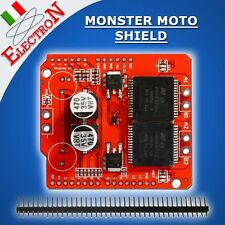 Dual VNH2SP30 Stepper Driver Module 30A Monster Moto Shield - UPG L298N Arduino