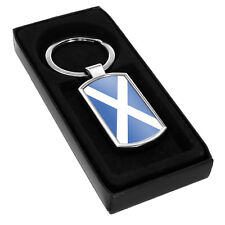 Scotland Flag Metal Keyring 185