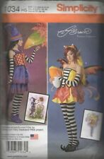 Simplicity Pattern 1034  Misses Fairy Costume   Size 6-14