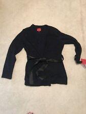 NWT Narciso Rodriguez Kohl's Black Blue Coat Sweater XL