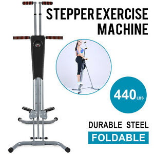 NEW Maxi Vertical Climber Machine Exercise Equipment Stepper Cardio Fitness Gym