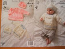 AGE 1-8 YRS HS52 KNITTING PATTERN FOR CHILDREN/'S MITTENS
