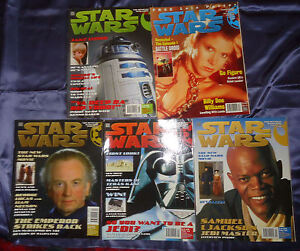 Star Wars Official magazine by Titan. Issues 6-35, 33 mags