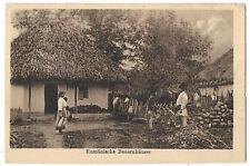 Romania 1917 village Germany military post WWI