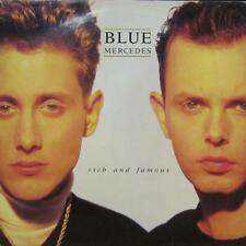 MERCEDES BLEUE (VINYL LP) riche et célèbre-MCA-MCF 3403-UK-VG/VG
