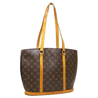 LOUIS VUITTON BABYLONE SHOULDER TOTE BAG VI1907 PURSE MONOGRAM M51102 A53867