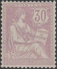 """FRANCE STAMP TIMBRE N° 128 """" MOUCHON RETOUCHE 30c VIOLET 1902 """" NEUF xx TTB J931"""