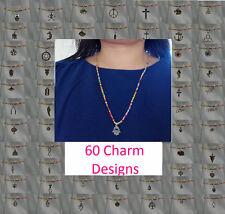 Handgefertigte Modeschmuck-Halsketten aus Perlen