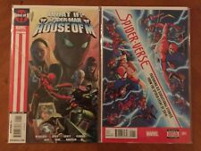 What If Spider-Man House of M (2009) #1 & Spider-Verse (2014) #1A NM+
