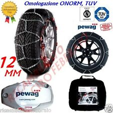 Catene Neve 12mm Pewag Servo Suv Land Rover Discovery Gomma 235/85R16 RSV81A