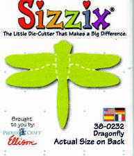 ORIGINAL GREEN SIZZIX DIE DRAGONFLY