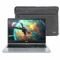 "NEW **WITH RECEIPT** Acer Chromebook 315 CB315-3H-C2C3 15.6"" Laptop+Case Sleeve"