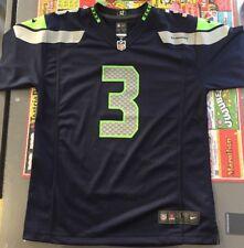 0838ec5e0526 Youth Nike NFL on Field Jersey Sz S Seattle Seahawks  3 Russell Wilson
