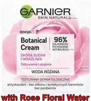 Garnier Essentials Hydrating Care 24h Day Face Cream  Sensitive Skin 50ml.  NEW