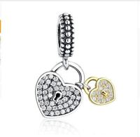 CHARM BEAD 925 Sterling Gold Family Tree Silver Authentic Dangle luxury girl new