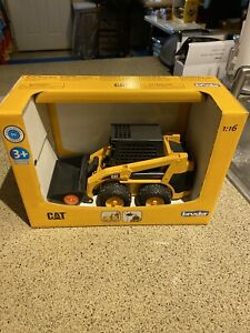 CAT Skid Steer Loader Toy Caterpillar - Made In  Germany By BRUDER -BRAND NEW!!!