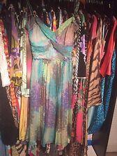 NEW Alessandro  Dell Acqua  Silk Chifon Dress 40 $1300