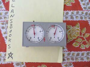 "Vintage Allan Troy Chess Clock-Jerger ""Blitz"" chess clock The Queen's Gambit 2/3"