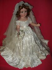 """Stunning! Vintage BRIDE 17"""" Nancy Ann Styleshow (?)"""