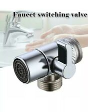 sink Basin faucet diverter valve/adapter to bidet shower hose aerator Toilet