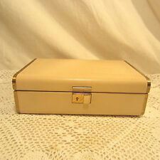 "Vintage Jewelry Box/Case Fashioned By Farrington Genuine TEXOL Rare 9 1/2"" x 6"""