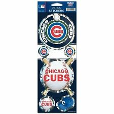CHICAGO CUBS PRISMATIC HOLOGRAPH STICKER DECAL SHEET OF 5 MLB BASEBALL