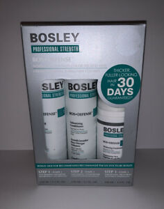 Bosley Professional BosDefense 30-Day Starter Pack for Non Color-Treated Hair