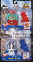 2 Disney Toy Story 4 Electronic Music Light Spinning Woody Rocket Buzz Spaceship