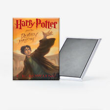 Harry Potter and the Deathly Hallows Book Cover Refrigerator Magnet 2x3