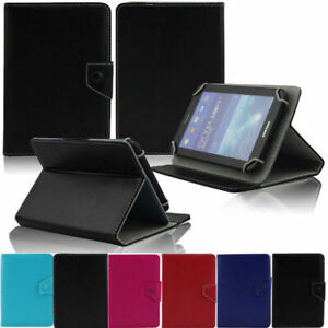 """For RCA 7"""" 7 Inch Voyager RCT6773W22 Tablets Folio Stand PU Leather Case Cover"""