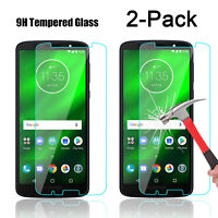 For Motorola Moto G6/ G6 Play/Plus 9H Tempered Glass Screen Protector Cover Film