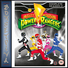 MIGHTY MORPHIN POWER RANGERS - COMPLETE SEASON 3 COLLECTION *BRAND NEW DVD***