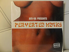 AFU-RA PRESENTS PERVERTED MONKS VOL 1 (VINYL 2LP)  2004!!!  RARE!!!  DOMINGO!!!