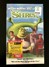 Shrek Special Edition (Vhs, 2001) Brand New Factory Sealed